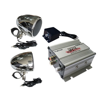 pyle-plmca20-100-watts-motorcycle-atv-snowmobile-mount-amplifier-with-dual-handle-bar-mount-weatherproof-speakers