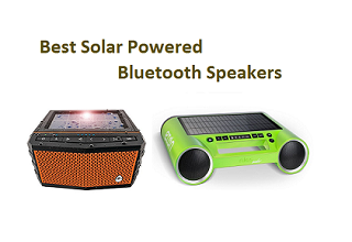 Best Solar Powered Bluetooth Speakers