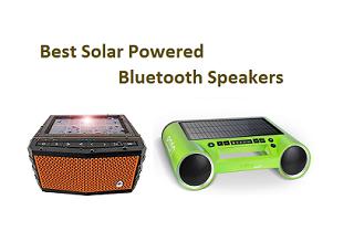 Best Solar Powered Bluetooth Speakers
