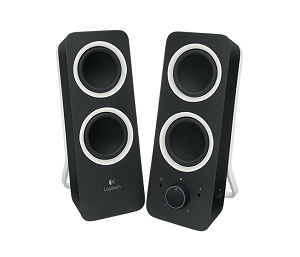 Logitech Multimedia Speakers Z200?x88926 top 10 best computer speakers under 50 in 2017 techsounded 2.1 PC Speakers at eliteediting.co