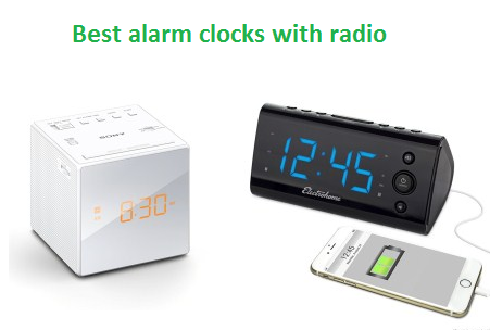 top 10 best alarm clocks with radio in 2018 techsounded. Black Bedroom Furniture Sets. Home Design Ideas
