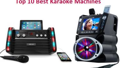 Top 10 Best Karaoke Machines