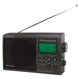 Crane CCRadio-2E Enhanced Portable AM FM Weather and 2-Meter Ham Band CC2BE