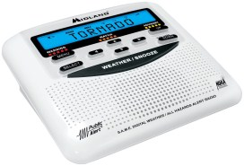 Midland WR120EZ NOAA Weather and All Hazard Public Alert Certified Radio with SAME