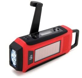 Epica Digital Emergency Solar Hand Crank AMFMNOAA Radio