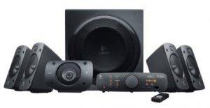 Logitech Z906 5.1 Surround Sound Speaker System – THX, Dolby Digital and DTS Digital Certified