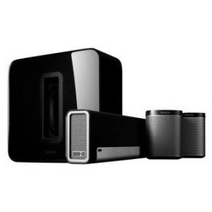 Sonos 5.1 Home Theater System PLAYBAR, SUB, PLAY1 Wireless Rears Combination (Top Pick)