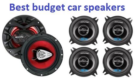 Best Budget Aftermarket Car Speakers