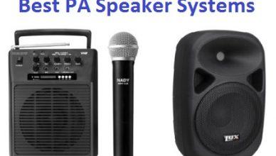 Best PA Speaker Systems