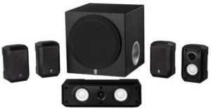 Yamaha NS-SP1800BL 5.1-Channel Home Theater System (Black)