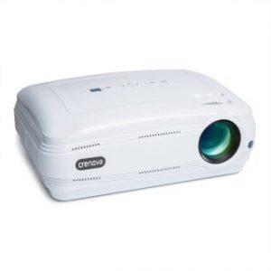 Crenova XPE680 720P HD Projector, Home Theater Multimedia Video Office Projector