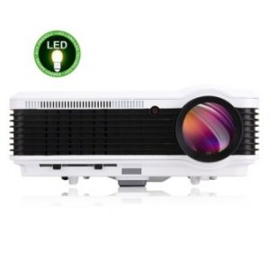 EUG Full HD 1080p 3600 Lumens LCD LED Image System Home Theater Cinema Projector