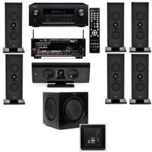 Klipsch Gallery G-16 7.1 Home Theater System-SW-310-Denon AVR-X2100W 7.2 Channel