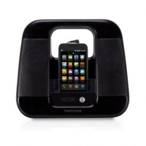 Memorex ML410-BLK Portable Line-In Speakers