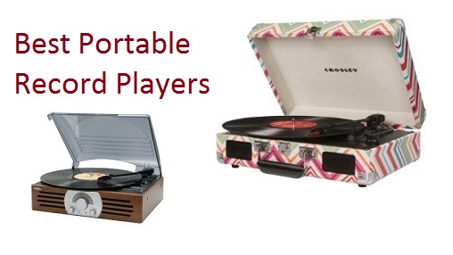 The Best Portable Record Players - Top 10 List 2019