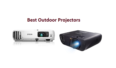 top 15 best outdoor projectors in 2018 complete guide techsounded