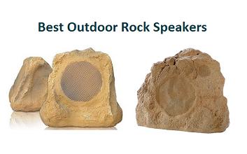 "Dual 6.5/"" 60W RMS//150W Peak Weather Resistant Outdoor Rock Speaker w// 10/' Wire"