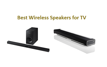 Top 15 Best Wireless Speakers for TV in 2019 | TECHSOUNDED