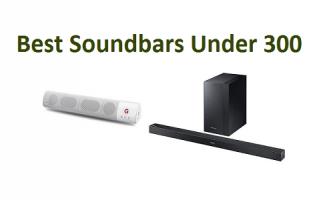 Top 15 Best Soundbars Under 300 in 2019 - Complete Guide