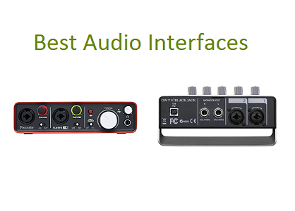 Top 10 Best Audio Interfaces in 2019 | TECHSOUNDED