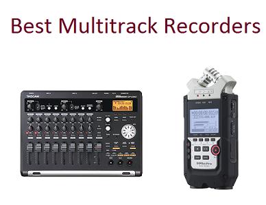 Top 15 Best Multitrack Recorders in 2018 | TECHSOUNDED