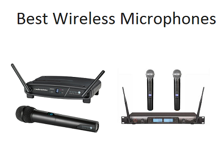 Top 10 Best Wireless Microphones in 2019 | TECHSOUNDED