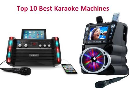 top 10 best karaoke machines in 2019 ultimate guide techsounded. Black Bedroom Furniture Sets. Home Design Ideas
