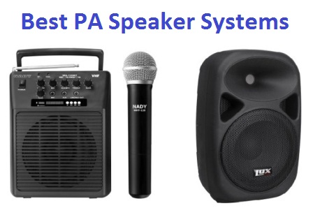 top 15 best pa speaker systems in 2018 ultimate guide techsounded. Black Bedroom Furniture Sets. Home Design Ideas