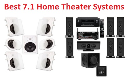 Top 15 Best 7 1 Home Theater Systems in 2019 - Complete