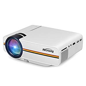 Meyoung TC80 LED Mini Projector, Home Theater LCD HD Movie Video Projectors