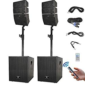 top 15 best powered speakers in 2019 ultimate guide techsounded. Black Bedroom Furniture Sets. Home Design Ideas