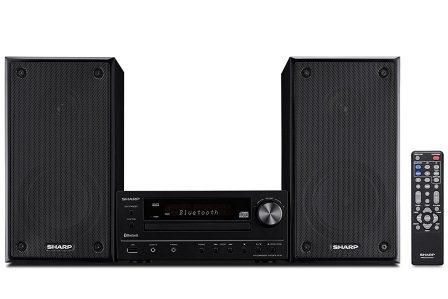 4 Sharp XLHF102B HI Fi Component MicroSystem This Bookshelf Stereo System