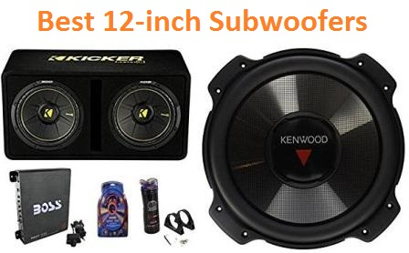 Top 15 Best 12-inch Subwoofers in 2019 - Complete Guide