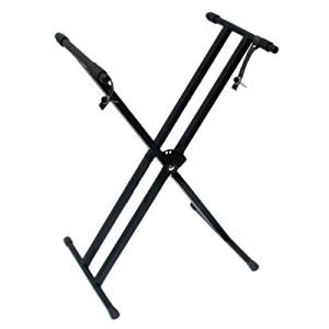 Piano Keyboard Double X Stand — Fully-adjustable stand — Great gift for beginner