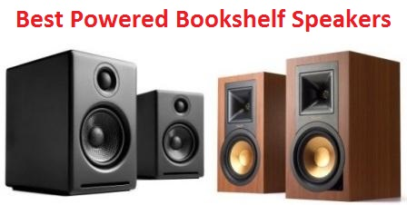 Top 15 Best Powered Bookshelf Speakers In 2019 Techsounded