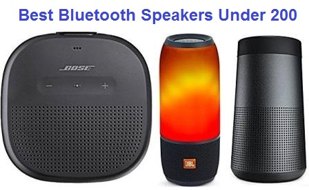 Top 15 Best Bluetooth Speakers Under 200 in 2019 | TECHSOUNDED