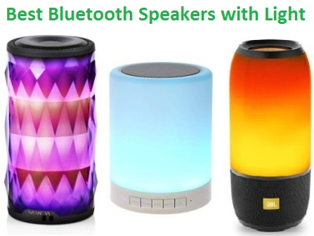 Top 15 Best Bluetooth Speakers With Light In 2020 Techsounded