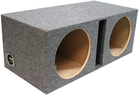 """Subwoofer Box 12/"""" Sealed Universal Large Air Space  Made in USA"""