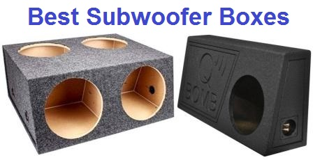 Top 15 Best Subwoofer Boxes In 2020 Techsounded