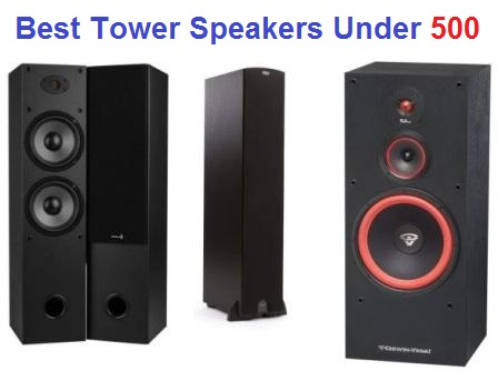 Top 15 Best Tower Speakers Under 500 In 2020