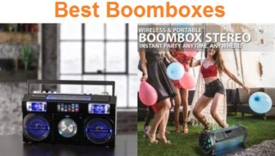 Top 15 Best boomboxes in 2019