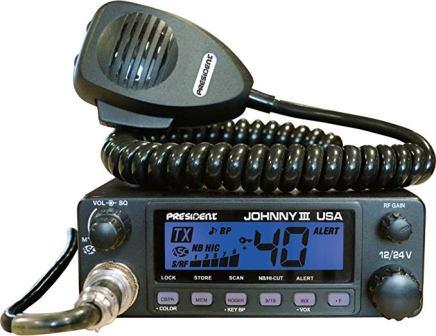 PRESIDENT MCKINLEY AM//LSB//USB 40 CHANNEL CB RADIO 12//24V COMPACT DIN SIZE