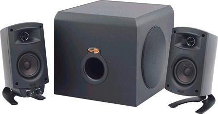 Genuine satellite Speaker for Klipsch ProMedia 2.1 Sound System with Stand