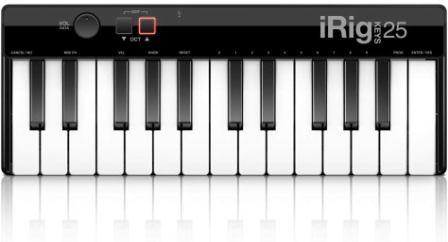 IK Multimedia iRig Keys keyboard MIDI controller(Mini)