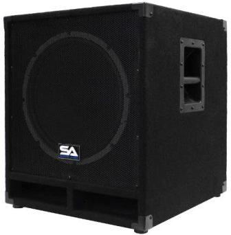 Seismic Audio – Baby-Tremor – 15″ Pro Audio Subwoofer Cabinet